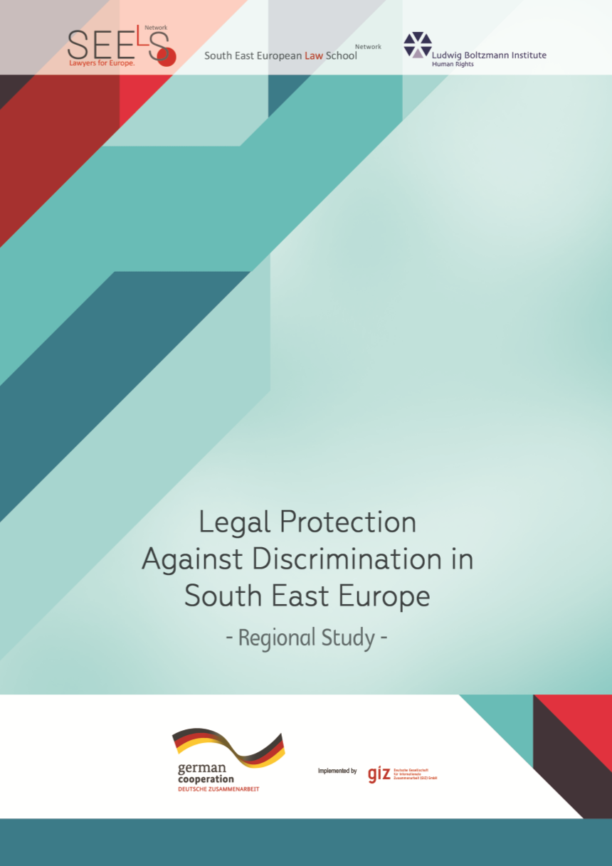 Legal Protection against Discrimination in South East Europe Regional Study